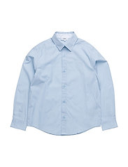 LONG SLEEVED SHIRT - PALE BLUE