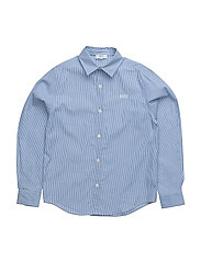 LONG SLEEVED SHIRT - BLUE