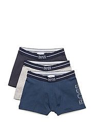 SET OF 3 BOXER SHORTS - SLATE BLUE