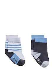 SOCKS (2) - PALE BLUE