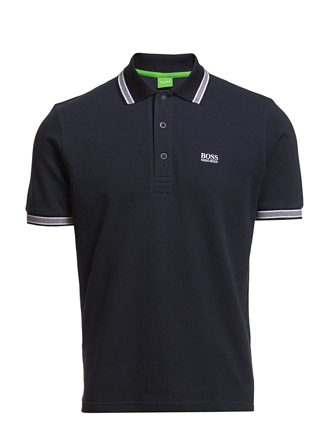Paddy BOSS GREEN Kortærmede polo t-shirts til Mænd i Navy blå