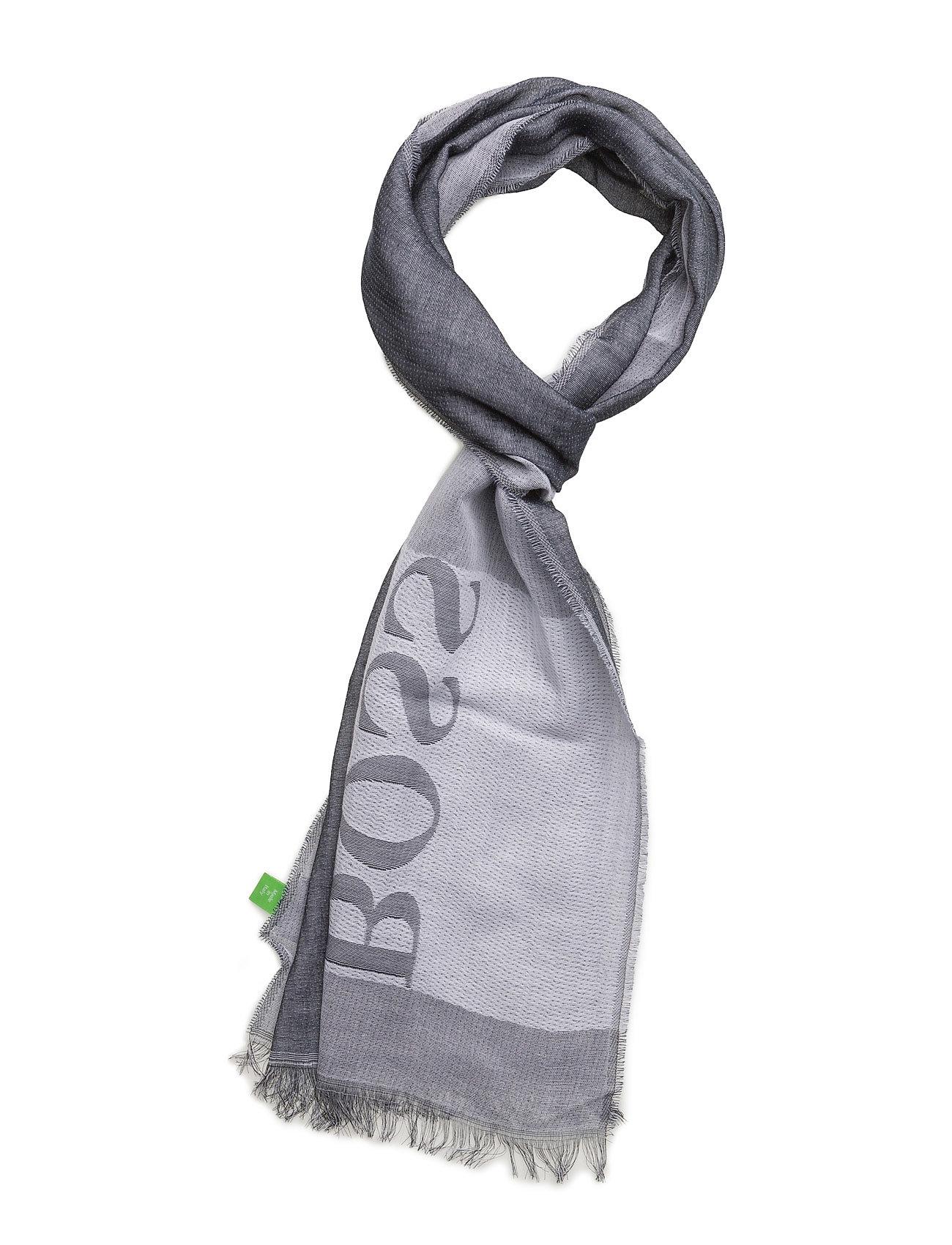 C-Scarf-1 BOSS GREEN Halstørklæder til Herrer i Navy blå