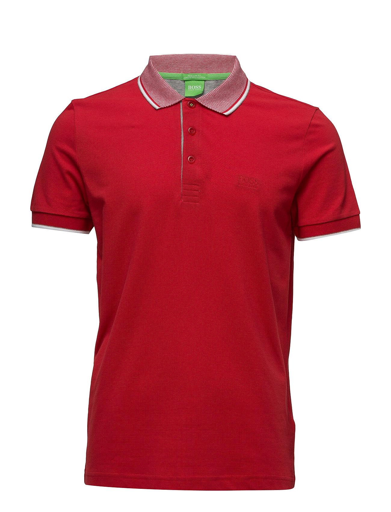 Paddos 1 BOSS GREEN Kortærmede polo t-shirts til Herrer i