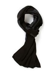 Knitties_Scarf - Black