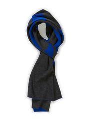 Knitties_Scarf - Medium Blue