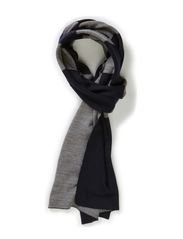 Knitties_Scarf - Navy