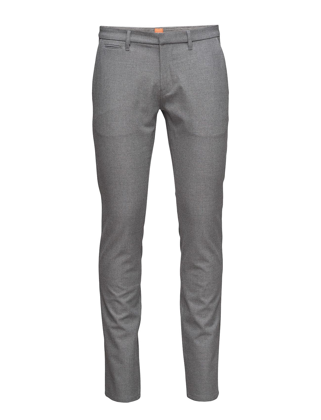 Schino-Slim3-W BOSS Orange Bukser til Mænd i Mellem grå