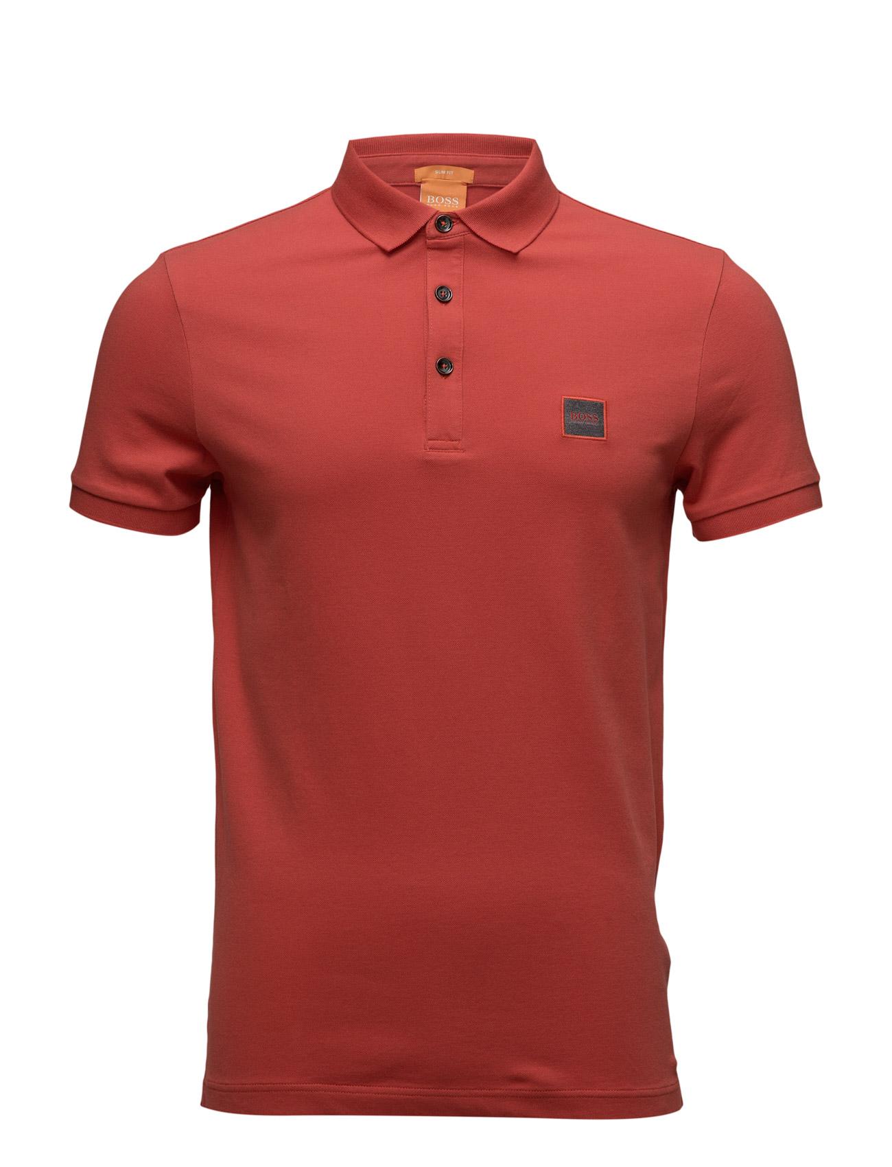 Pavlik BOSS Orange Kortærmede polo t-shirts til Herrer i