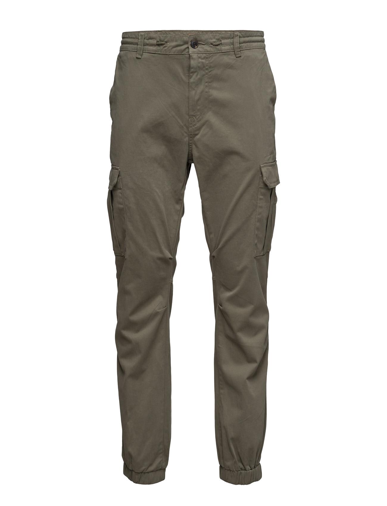 Shay1-D BOSS Orange Bukser til Mænd i Mørkegrøn