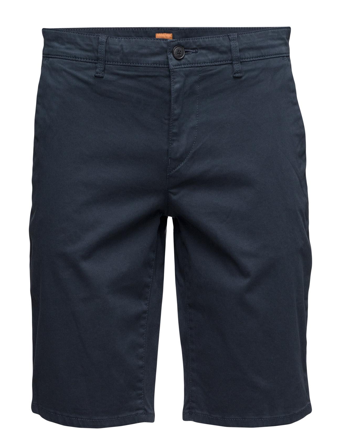 Schino-Slim-Shorts-D BOSS Orange Bermuda shorts til Mænd i Mørkeblå
