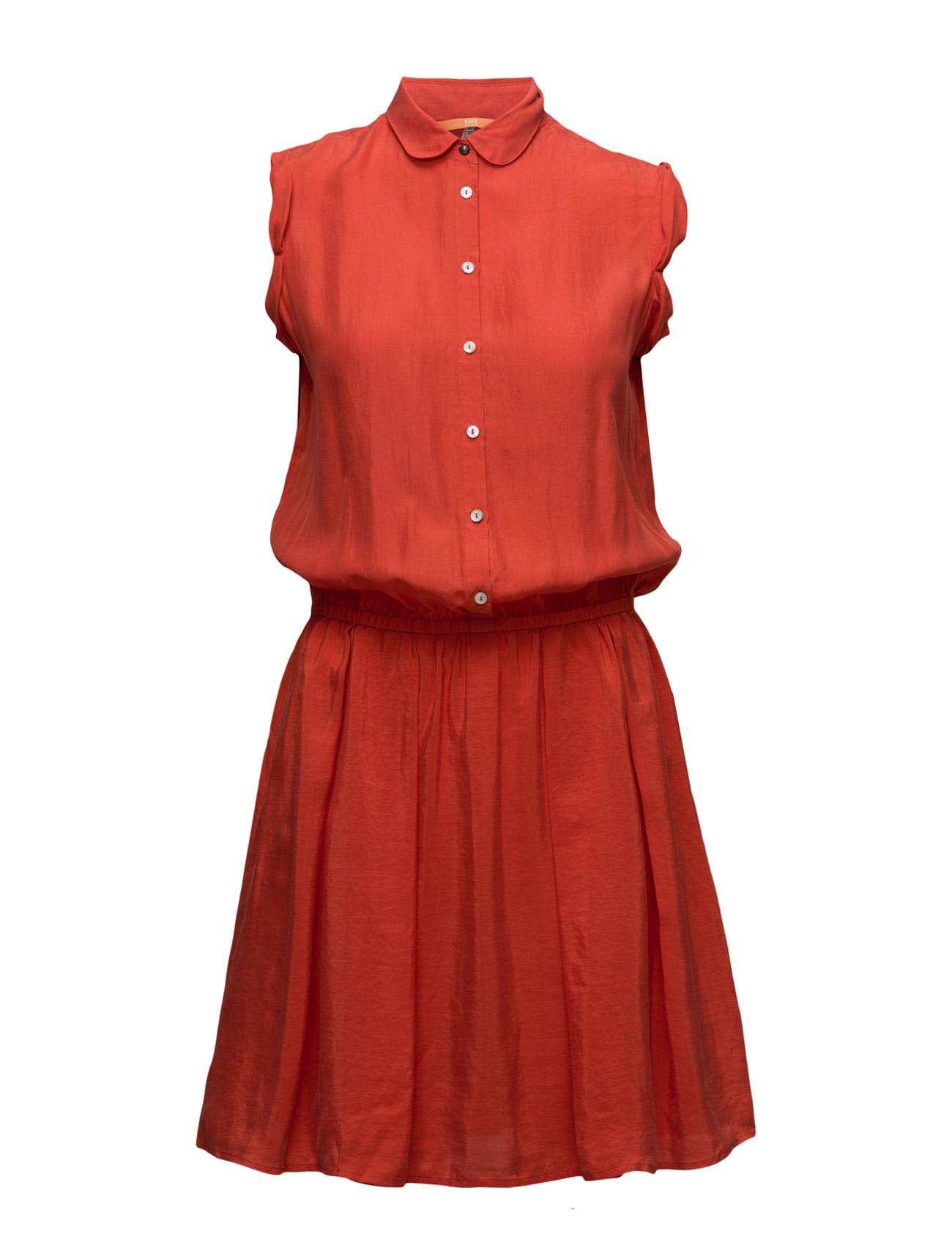 Clace BOSS Orange Korte kjoler til Damer i Bright Red