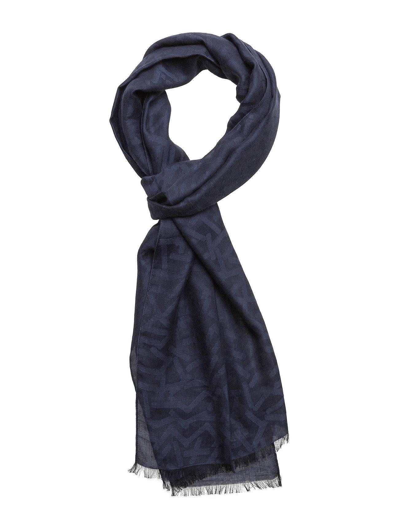 Noon BOSS Orange Halstørklæder til Herrer i Mørkeblå