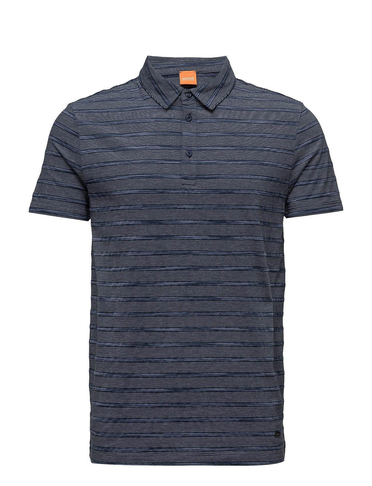 4e3003556bba Køb Playmate BOSS Orange Kortærmede polo t-shirts i Mørkeblå til Herrer på  Boozt.dk