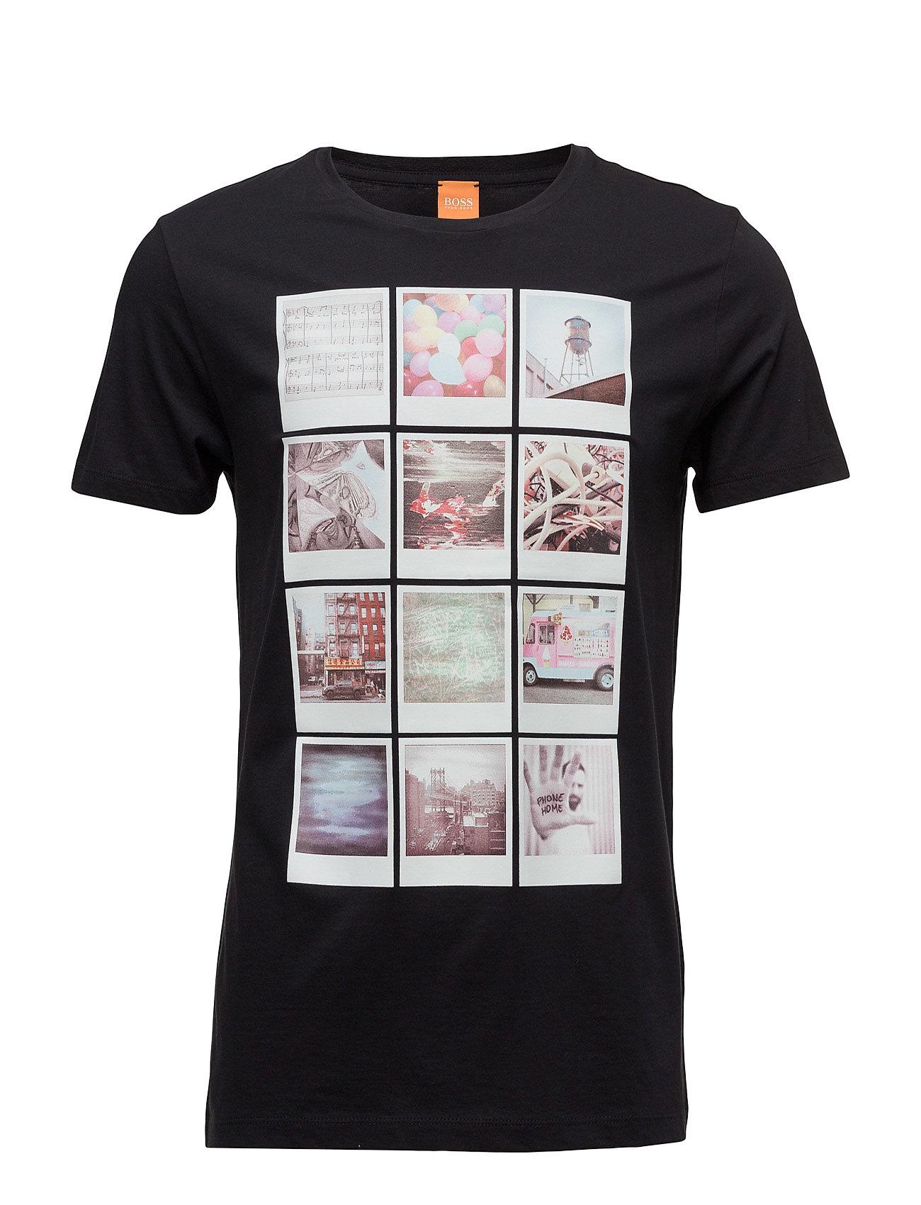 Totally 2 BOSS Orange T-shirts til Mænd i Sort
