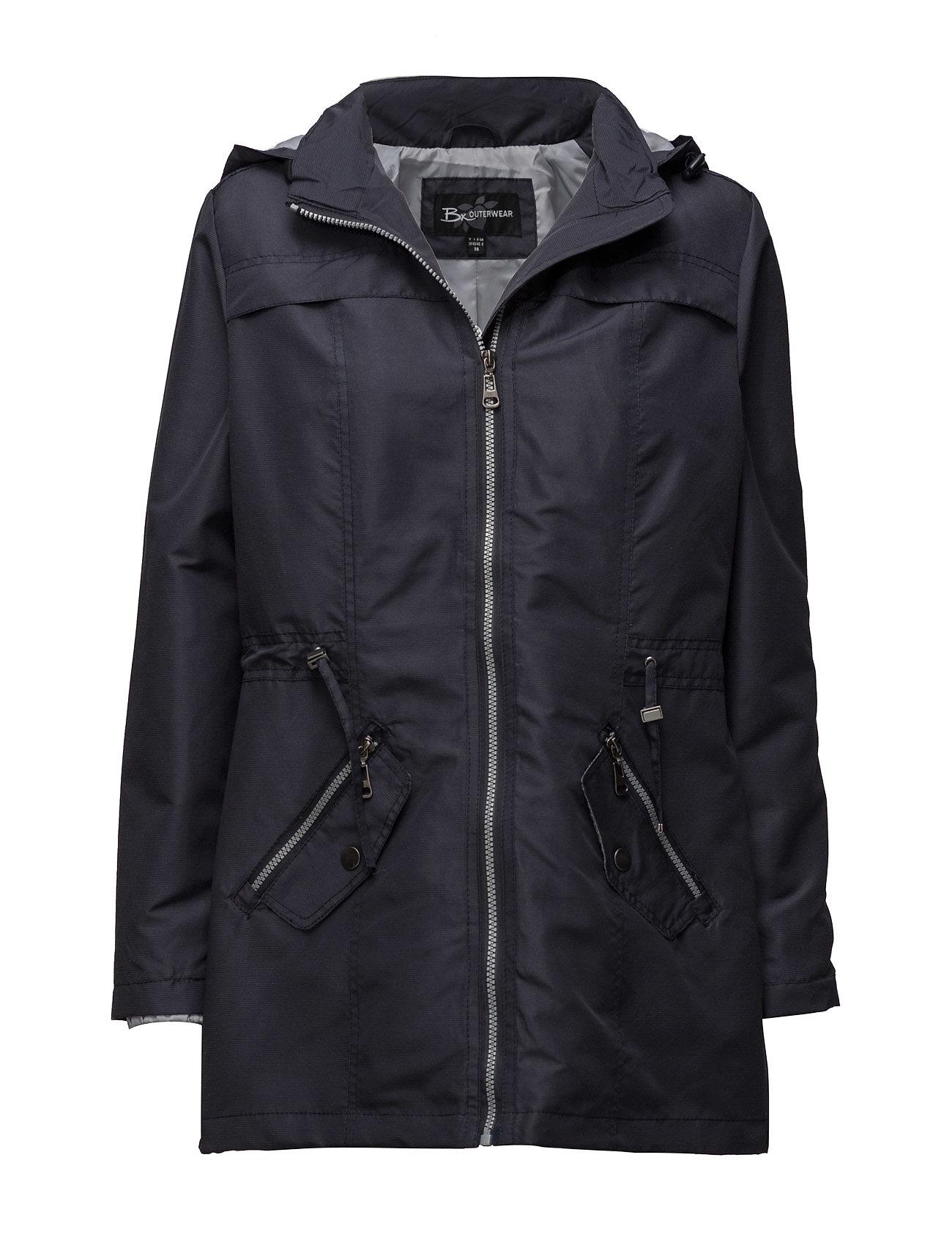 Coat Outerwear Summer Light Brandtex Frakker til Damer i Midnight Blue