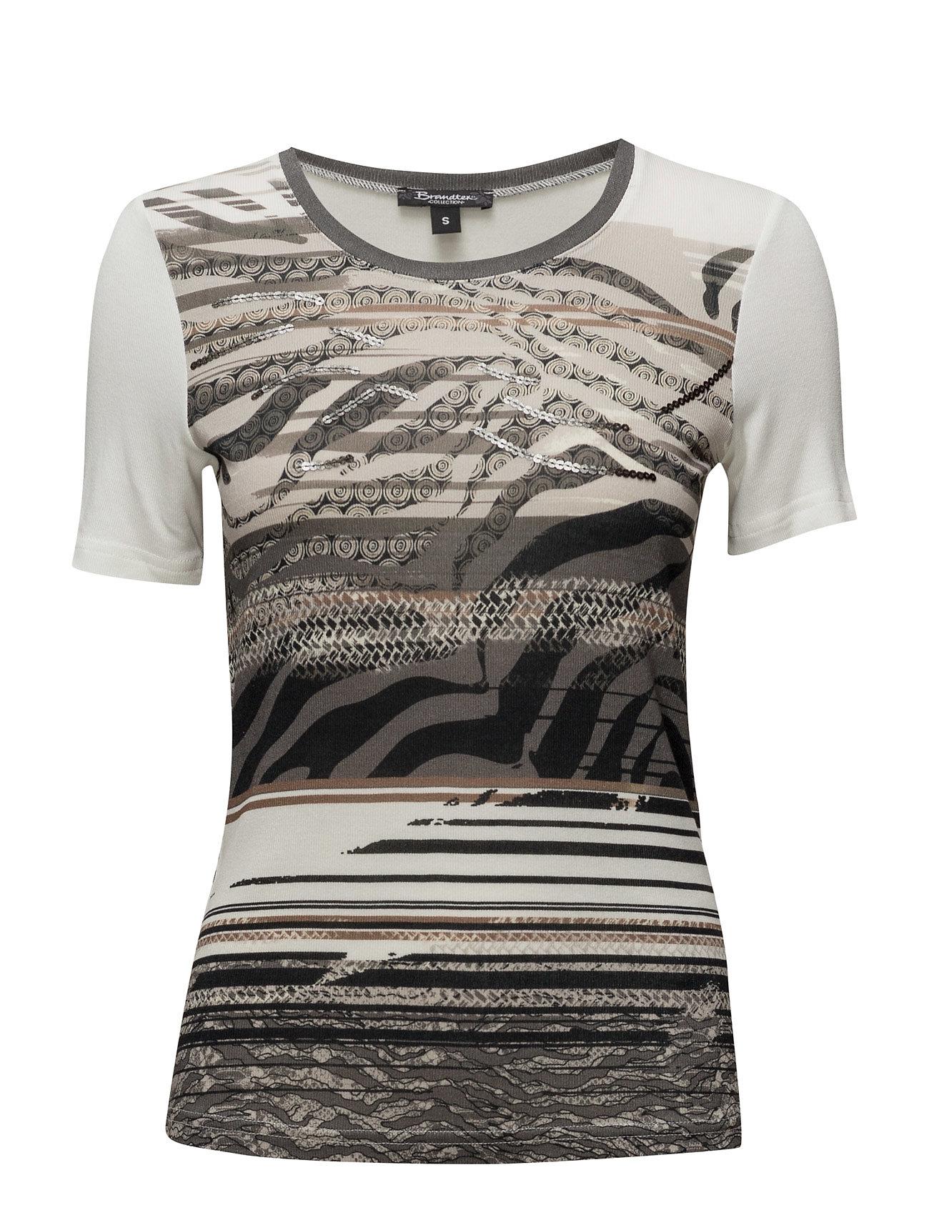 T-Shirt S/S Brandtex Kortærmede til Damer i khaki