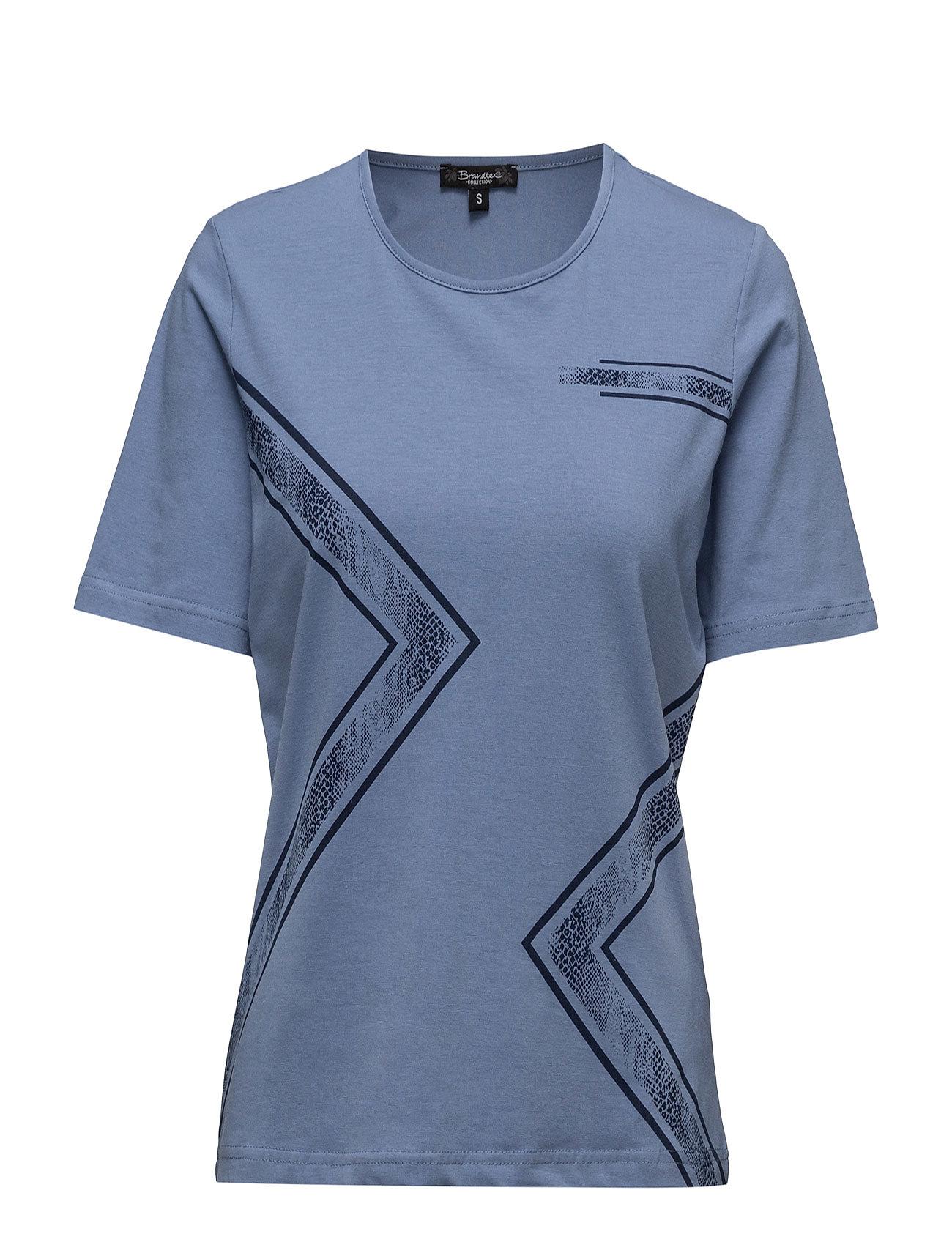 T-Shirt S/S Brandtex Kortærmede til Damer i Colony Blå