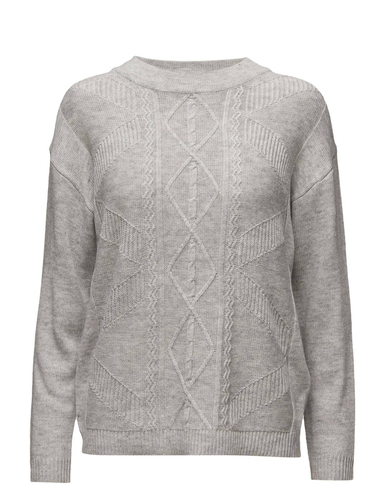 Pullover Brandtex Sweatshirts til Damer i Lysegrå