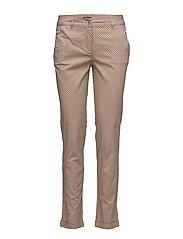 Casual pants - CAMEL