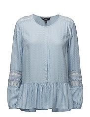 Shirt l/s Woven - LIGHT BLUE