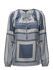 Shirt l/s Woven - MIDNIGHT BLUE