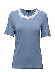 T-shirt s/s - COLONY BLUE