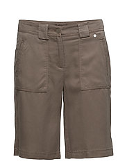Casual shorts - KHAKI