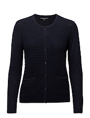 Cardigan-knit Heavy - MIDNIGHT BLUE