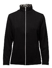 Cardigan-jersey Light - BLACK