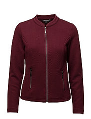 Cardigan Heavy - OXBLOOD