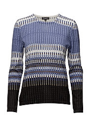 Pullover-knit Heavy - HORIZON BLUE