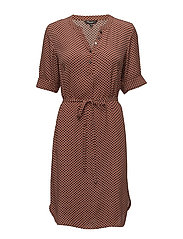 Dress-light woven - HENNA