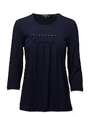 T-shirt l/s - MIDNIGHT BLUE
