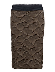 Skirt-jersey - OLIVE