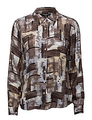 Shirt l/s Woven - HORIZON BLUE