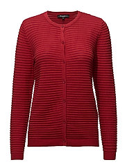 Cardigan-knit Heavy - RED