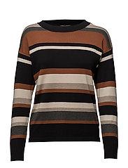 Pullover-knit Heavy - CARAMEL