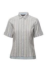 Shirt s/s Woven - SKY BLUE