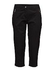 Capri pants - BLACK