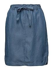 Casual skirt - SUNBLEACHED DENIM