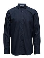 Logan, Shirt Modern - NAVY CUTAWAY