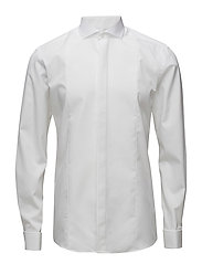 Bond, Men's shirt Slim - WHITE CUTAWAY
