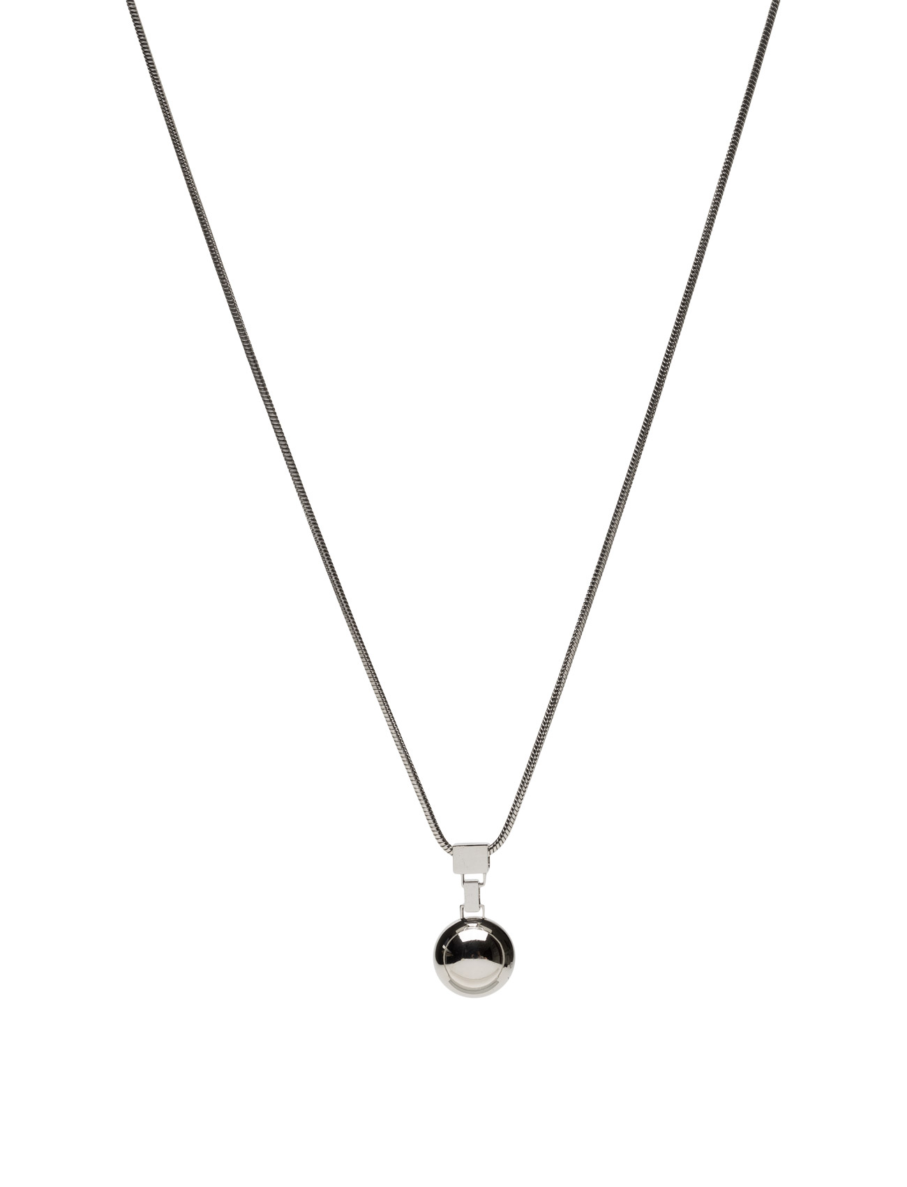 Divino Long Necklace Bud to rose Accessories til Kvinder i Stål