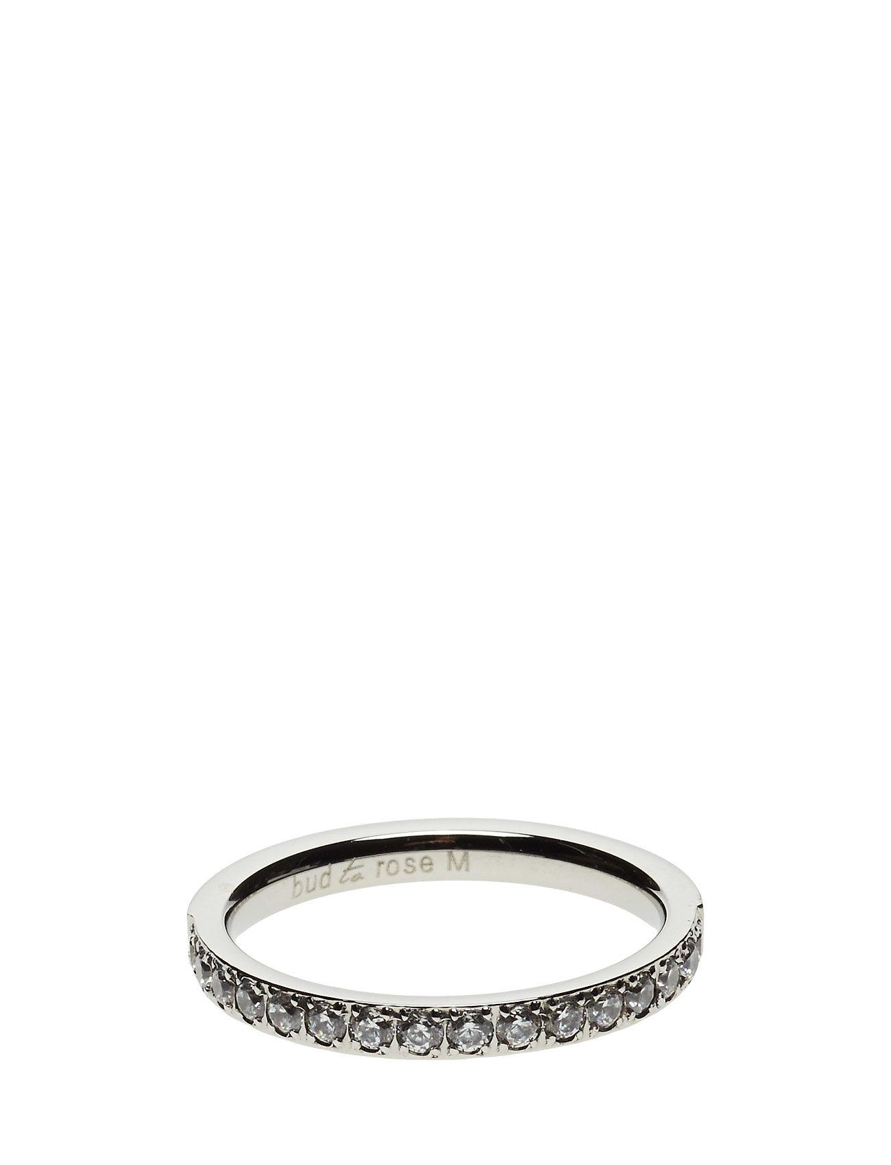 Zoee Ring Steel Bud to rose Smykker til Damer i Sølv