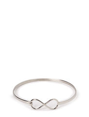 Infinity bangle - Silver