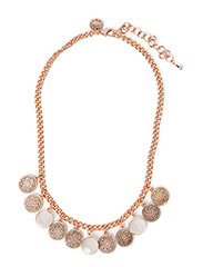 Coin necklace - Rosegold