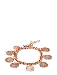 Coin bracelet - Rosegold