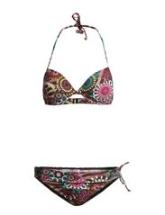Push-up Bikini Circus Buffalo - brown print