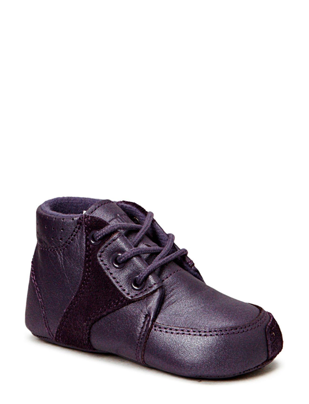 bundgaard Prewalker purple w/laces på boozt.com dk