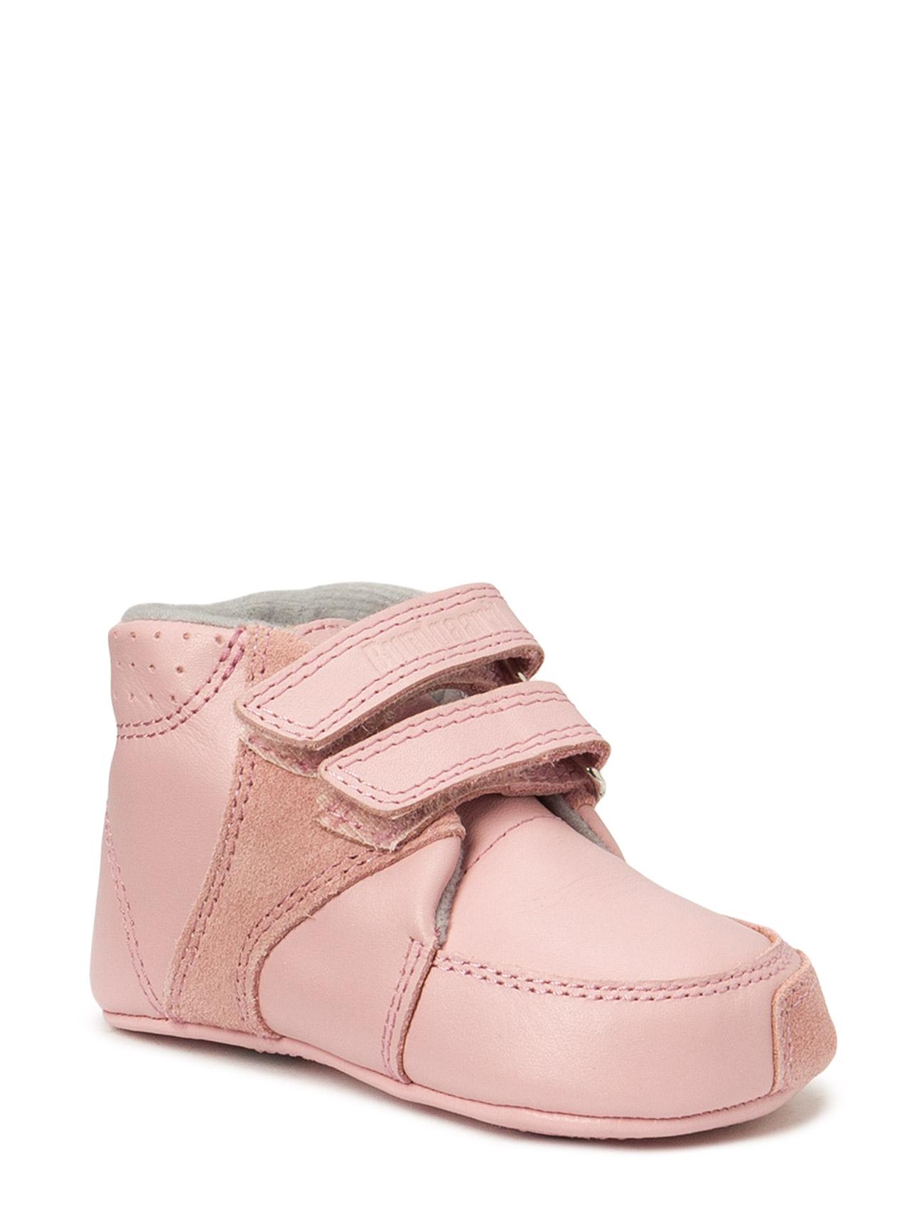Prewalker Old Rose W/Velcro Bundgaard Sko & Sneakers til Børn i Old Rose